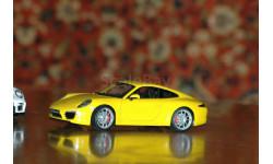 Porsche 911 (991) Carrera S - Welly art.18047, масштабная модель, scale18