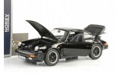 1977 Porsche 911 930 3.3 Turbo Black 1:18 Norev, масштабная модель, scale18