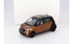Smart forfour Coupe (W453) Black / Brown 1:18 Norev, масштабная модель, scale18