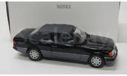 Mercedes Benz 300 CE-24 / W124 ( 1990 ) black / Norev 1:18, масштабная модель, scale18, Mercedes-Benz