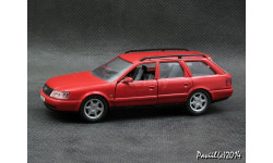 Audi A6 Avant C4 red 1-43 Schabak