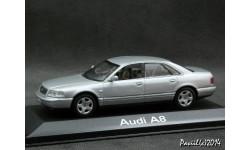 AUDI A8 D2 1999 silver 1-43 Minichamps