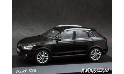 Audi Q3 black 1-43 Schuco, масштабная модель, 1:43, 1/43