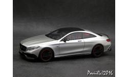 Mercedes Brabus 850 AMG S63 Coupe C217 2015 grey met. 1-43  Minichamps, масштабная модель, 1:43, 1/43, Мinichamps, Mercedes-Benz