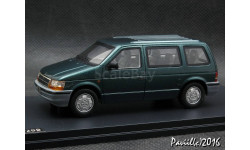 Chrysler Voyager green 1-43 GLM
