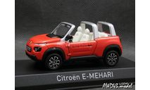 Citroën E-Mehari 2016 Orange 1-43 Norev, масштабная модель, scale43
