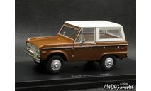 Ford Bronco 1970 brown 4x4 1-43 BoS-Models, масштабная модель, 1:43, 1/43
