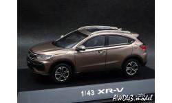 Honda XR-V 2014 brown 4x4 1-43 Dealer, масштабная модель, 1:43, 1/43