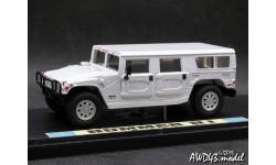 Hummer H1 white 4x4 1-43 МБК