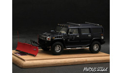 Hummer H2 SNO-WAY 1-43 GM-Art