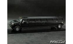 Hummer H2 Stretch Limousine 2009 4x4 black met. 1-43 Dealer, масштабная модель, 1:43, 1/43, Noname