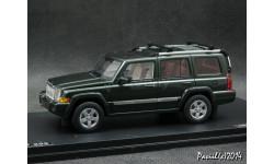 Jeep Commander green 4x4 1-43 GLM