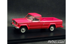 Kaiser 'Jeep' Gladiator J3000 Townside red 1-43 GLM