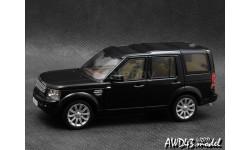 Land Rover Discovery 4 2010 black 1-43 IXO