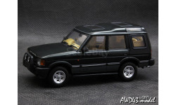 Land Rover Discovery XS V8 1994 d.green 4x4 1-43 AUTOArt