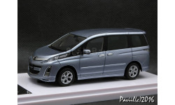 Mazda Biante 23S Option Parts l.blue 1-43 Wit's, масштабная модель, 1:43, 1/43, Honda