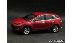 Mazda CX-7 SUV red 1-43 Dealer=AUTOArt, масштабная модель, scale43