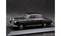 Mercedes 180 W120 1953-57 black 1-43 Minichamps