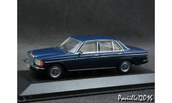 Mercedes 200-280E W123 75-´84 blue 1-43 Minichamps