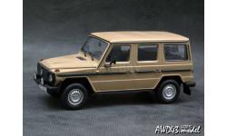 Mercedes 230 GE W461 1981 beige 1:43 Minichamps, масштабная модель, scale43