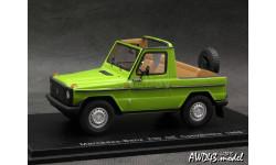 Mercedes 230 GE Convertible 1988 green 4x4 1-43 Spark