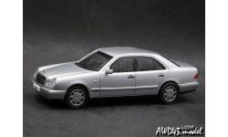 Mercedes 280 E Elegance W210 silver 1-43 Herpa 070348