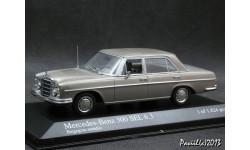 Mercedes 300 SEL 6.3 1968-72 beige 1-43 Мinichamps, масштабная модель, 1:43, 1/43, Mercedes-Benz