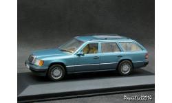 Mercedes 300 TE W124 Mopf 2 1991 l.blue 1-43 Minichamps, масштабная модель, 1:43, 1/43, Мinichamps, Mercedes-Benz
