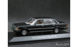 Mercedes 450 SEL 6.9 W116 1974 matt.black 1-43 Minichamps