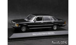 Mercedes 450 SEL 6.9  W116 1975 black 1-43 Minichamps