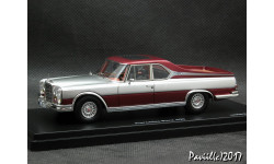 Mercedes 600 Pick Up silver 1-43 Schuco Pro.R