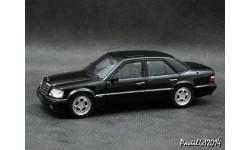 Mercedes Brabus 6.5 1993 black 1-43 Minichamps
