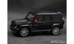 Mercedes G Brabus 850 6.0 Biturbo Widestar 2015  purple 4x4 1-43 Minichamps 437032401, масштабная модель, Mercedes Brabus, 1:43, 1/43