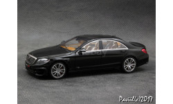 Mercedes Brabus 850 S63 S-Class 2015 black 1-43 Minichamps