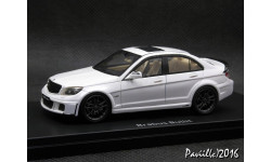 Mercedes Brabus Bullit W204 white 1-43 Schuco-Pro