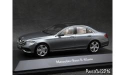 Mercedes E-class W213 Avantgarde 2016 grey 1-43 Kyosho