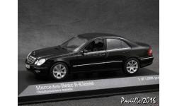 Mercedes E-Сlasse W211 2007 black 1-43 Minichamps