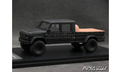 Mercedes G500 GWF Pick Up matt.black 4x4 1-43 GLM