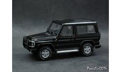 Mercedes G500 V8 W463 SWB 1998 black 4x4 1-43 AutoArt
