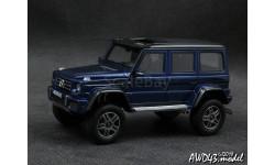 Mercedes  G550 4×4² blue 1-43 GLM 205704, масштабная модель, Mercedes-Benz, scale43