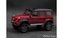 Mercedes G550 4×4² d.red 1-43 GLM 205705, масштабная модель, Mercedes-Benz, scale43