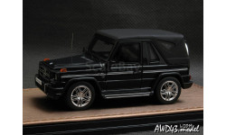 Mercedes G63 AMG Cabriolet Closed roof black 1-43 GLM207002