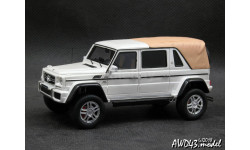 Mercedes G650 Maybach Landaulet Close roof white 4x4 1-43 GLM 207602