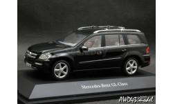 Mercedes GL  X164 2006 black 4x4 1-43 Dealer=Minichamps, масштабная модель, scale43