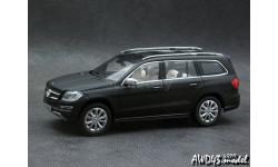 Mercedes GL X166 2012 matt.black 4x4 1-43 Norev 500 Lim., масштабная модель, 1:43, 1/43, Mercedes-Benz