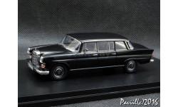 Mercedes W110 Binz Lang black 1-43 GLM