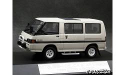 Mitsubishi Delica Star Wagon 2000 GLX Exceed 1986 white 4x4 1-43 Hi-Story