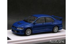 Mitsubishi Lancer GSR Evolution EVO VII WR Blue Mica W218 1-43 Wit's