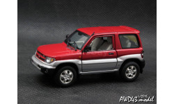 Mitsubishi Pajero Pinin 1999 red 4x4 1-43 Vitesse, масштабная модель, 1:43, 1/43