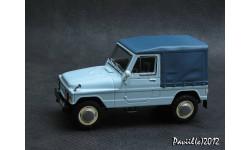 Москвич-2148 тент голубой 4x4 1-43 Prommodel43, масштабная модель, 1:43, 1/43